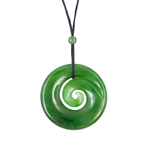 jade swirl necklace jpc19