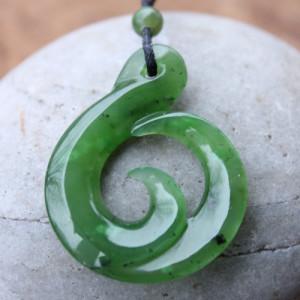 Jade Maori Necklace - New Beginning